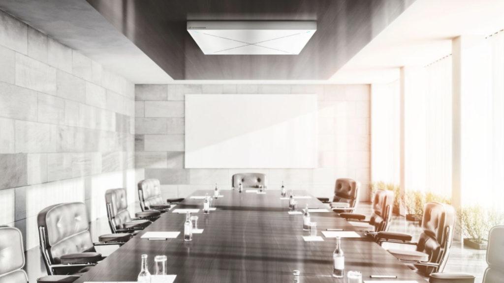 Une compatibilité Zoom Video Communications et Zoom Meetings pour le Sennheiser TeamConnect Ceiling 2 © DR