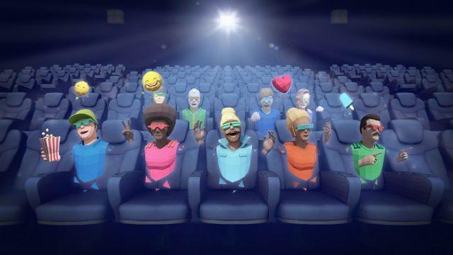 La salle de cinéma virtuelle avec CINEVR © DR