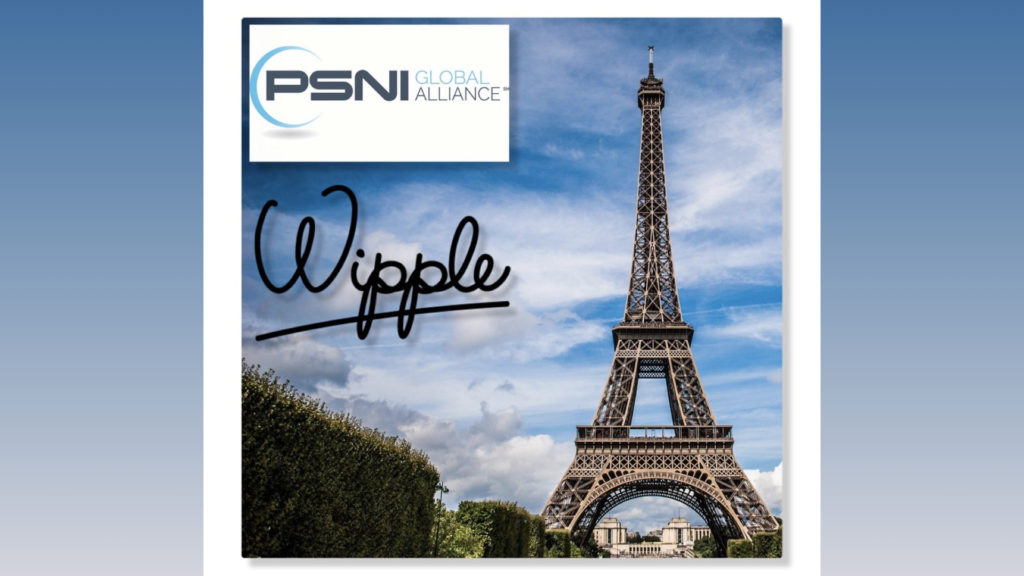 PSNI Global Alliance Welcomes Wipple to its EU Member Roster © DR