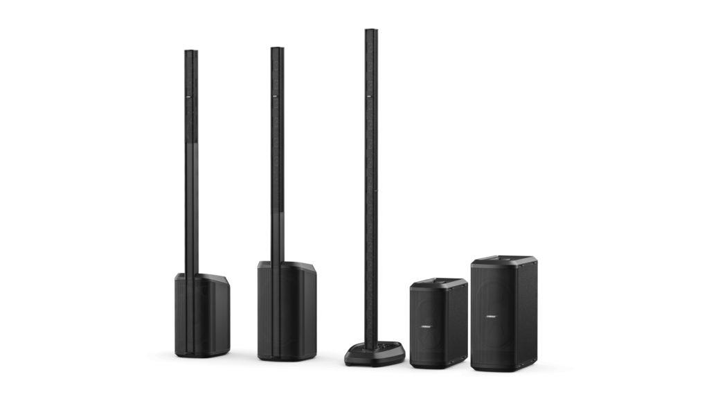 L1 Pro Portable Line Array, la nouvelle famille de solutions portables Bose © DR