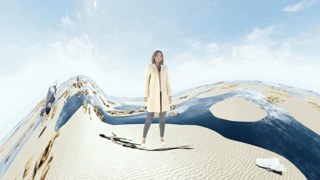 Recursive s'allie à VIOSO pour une expérience immersive dans une boutique de luxe © Recursive Digital et Ezra Miller